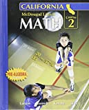 McDougal Littell Middle School Math California: Student Edition Course 2 2008 by Ron Larson (2007-03-09)