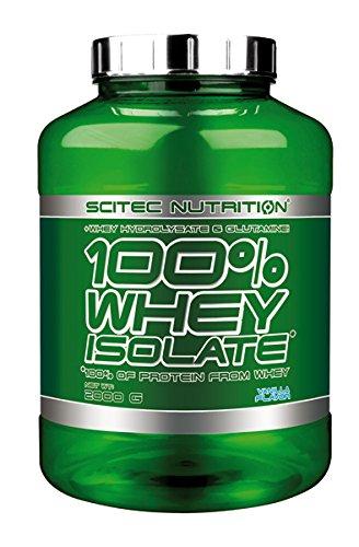 Scitec Nutrition 100% Whey Isolate Suplemento Nutricional de Proteinas con Sabor de Vainilla - 2 kg