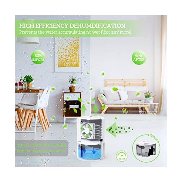 PAIPU-Deumidificatore-per-case-600mlper-Muffa-e-Umidit-ideale-per-Casa-Cucina-Camera-da-letto-Camper-Ufficio-Garage-Bagno-e-Cantina