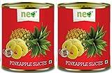 #8: Neo Pineapple Slices,439g ( Packof 2 )