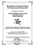 Hold Strong Fitness Klimmzugstange mit Studiozulassung, Grau, HS-K-D6 -