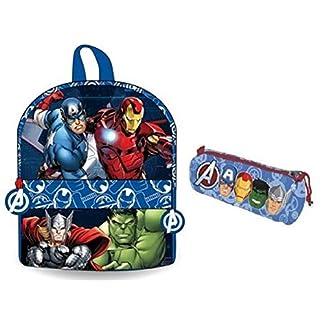 51IwwPo7m6L. SS324  - Avengers mochila infantil - estuche Avengers