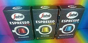 Get Segafredo Espresso Per Te Classico 10 Capsules Compatible With Machines Inissia,prodigio,pixie,citiz,u,lattissima, from SEGAFREDO