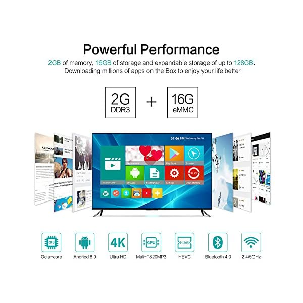 Android-TV-Box-2GB16GBavec-Rii-Mini-Clavier-Touchpad-Bluetooth-40-X9E-TV-BOX-Octa-Core-Soutien-Rel-4K-H265-WiFi-24GHz5GHz-Arm-Cortex-A53-CPU-jusqu-2HZ-Arm-Mali-T820MP3-GPU-Android-Box