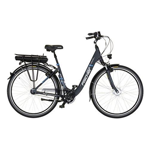 "28"" Zoll Fischer Elektro Fahrrad E-Bike Pedelec City Shimano 7 Gang 36V 14,5Ah anthrazit C-Ware"