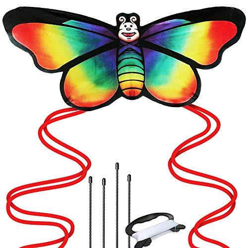 aGreatLife Riesiger Drachenflieger Zum Verkauf - Fliegt In Jeder Brise - Perfekt Für Kinder, Einfach Zu Fliegen - Leicht Und Stabil