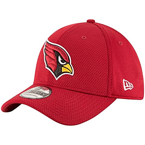 New Era Sideline Tech 39Thirty Aricar Otc - Gorra Línea Arizona Cardinals para hombre, color rojo, talla