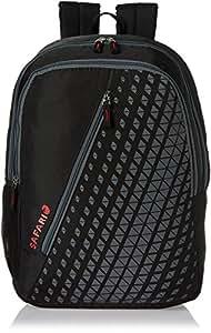 Safari 25 Ltrs Black Casual Backpack (Seesaw-Black-CB)