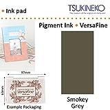 Smokey Gris Versafine Tsukineko Détails Fins Pigment Encre Tampon Pour Timbre En Caoutchouc Séchage Rapide