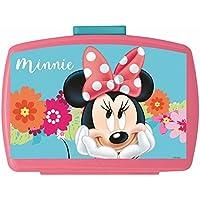 Preisvergleich für POS Handels GmbH Brotdose mit Einsatz | Disney Minnie Maus | Box Frühstück | Kinder Vesper Dose