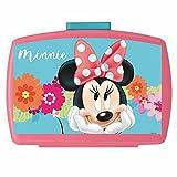 POS Handels GmbH Brotdose mit Einsatz | Disney Minnie Maus | Box Frühstück | Kinder Vesper Dose