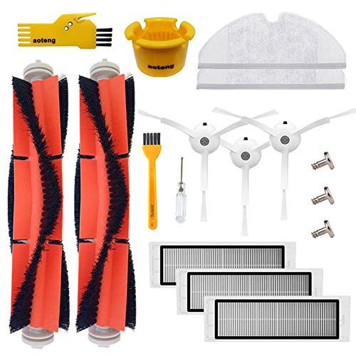 Accesorios Piezas aspiradora cepillo lateral filtro