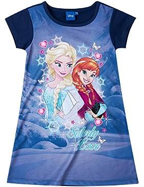 Disney Die Eiskönigin Elsa & Anna Mädchen Kleid - lila