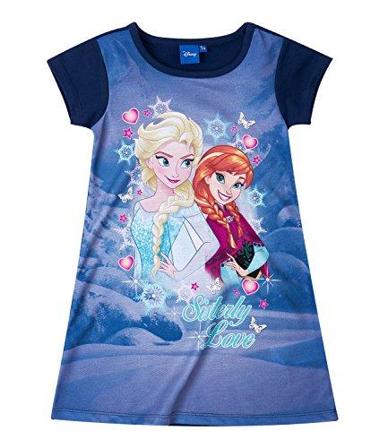 Disney Die Eiskönigin Elsa & Anna Mädchen Kleid - lila - 116 (Disney Frozen Kleider)