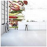 azutura Thai Gemüse & Gewürze Fototapete Essen & Trinken Tapete Küche Dekor Erhältlich in 8 Größen Extraklein Digital