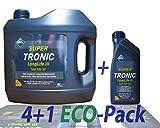 1 L + 4 L = 5 Liter ARAL SuperTronic Longlife III 3 5W-30 Motoröl inkl. Ölwechselanhänger