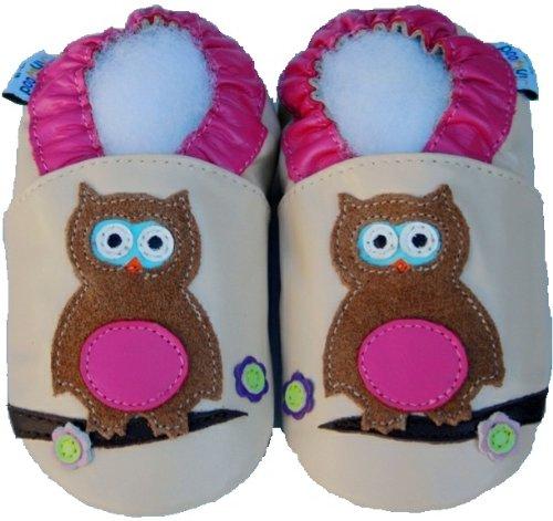 Jinwood , Chaussures souples pour bébé (fille) Beige - Beige