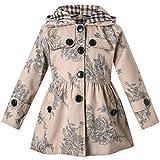 0a84932769ac ARAUS Cappotto Giacca a Vento Ragazzi Ragazze Giachetta con Fiocco Cintura  Giacca Classica Elegante Manica Lunga