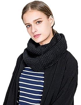 Invierno Bufunda Mujer Cálido Cuello de la Capucha Del Mantón de la Bufanda Larga de la Mujer