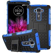 Beiuns para LG G Flex 2 F510L Funda de Protección Hibrida Carcasa - HH502 azul