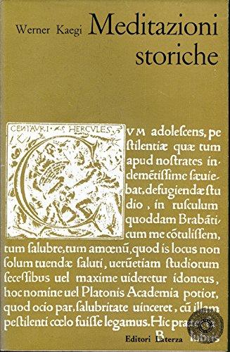 Mediazioni storiche