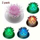 Schwimmende Solar-Lichter für Gartenteich oder Pool, LED, wasserdicht, Garten-Dekoration, plastik,...