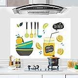 Küche Lampblack Maschine Öl - Aufkleber Hochtemperatur - Restaurant Schrank Aufkleber Bad Bad Wasserdicht,Ein