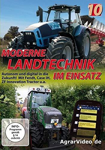 Moderne Landtechnik im Einsatz - Teil 10 - Autonom und digital in die Zukunft! Mit Fendt, Case IH, ZF Innovation Tractor u.a. -