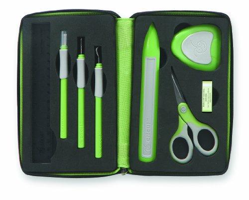 Tool Kit Cricut (Provo Craft 18551004 - Cricut Werkzeug-Set, 7 Einzelteile)