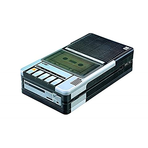 Retro Cassette Player Tin