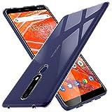 KuGi für Nokia 3.1 Plus Hülle, Kratzfeste Hülle Schutzhülle Soft TPU Case Ultradünn Cover [Slim-Fit] [Anti-Scratch] [Shock Absorption] passt Designed für Nokia 3.1 Plus Smartphone - Crystal Clear
