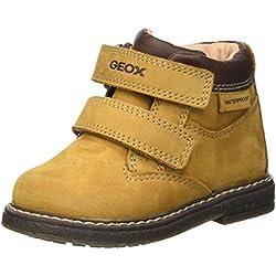 Geox B Glimmer Wpf A, Stivali Classici Bimbo, Gelb (Biscuit/DK BROWNC5B6R), 24 EU