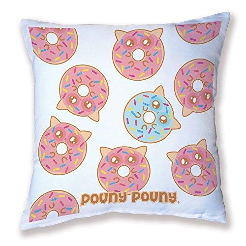 Coussin Pouny Pouny multi Donuts kawaii et chibi - Fabriqué en France - Chamalow Shop