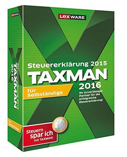 Preisvergleich Produktbild TAXMAN 2016 für Selbständige (für Steuerjahr 2015)