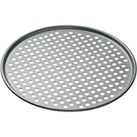 MasterClass KitchenCraft Non Stick Pizza Crisper Tray for Oven, 32 cm