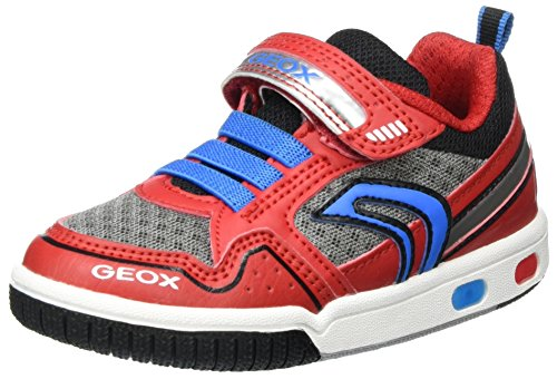 Geox Jungen Jr Gregg B Low-Top Rot (red/lt Bluec0540)