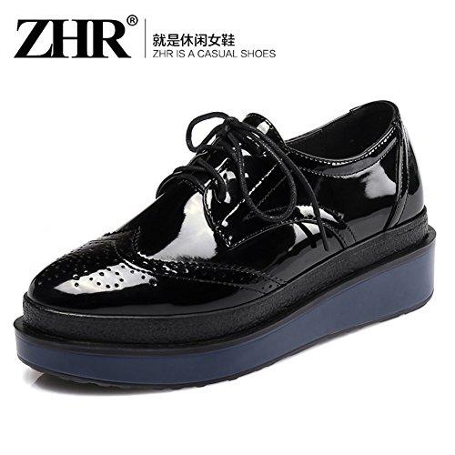 Printemps Vent Chaussures Plate-forme D'angleterre/Épaissir Chaussures Plate-forme/Chaussures Plates/Casual Shoes/Chaussures De Joker A