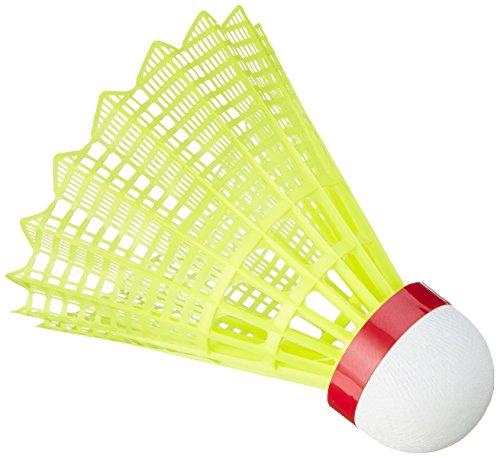VICTOR Ball Shuttle 3000-Schnell Badminton-nylonball, Gelb, 6er Dose