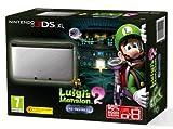 Nintendo 3DS XL Konsole inkl. Luigis Mansion 2 (vorinstalliert) - Silber/Schwarz