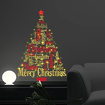Christmas Decorations Wall Stickers  Part 47