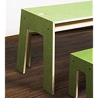 Preisvergleich für Perludi Oskar at Work - grün - Tisch