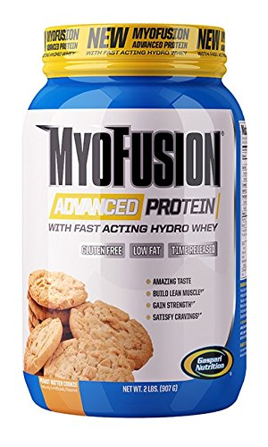Gaspari Nutrition - Myofusion Advanced 2Lb Peanut Buttercookie Dough - 51IxG AVDcL