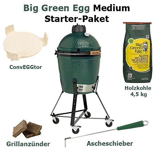 Big Green Egg Medium - Starter-Paket