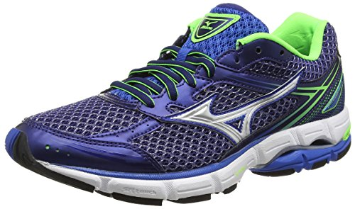 mizuno-mens-wave-connect-3-running-shoes-blue-skydiver-silver-green-gecko-9-uk-43-eu