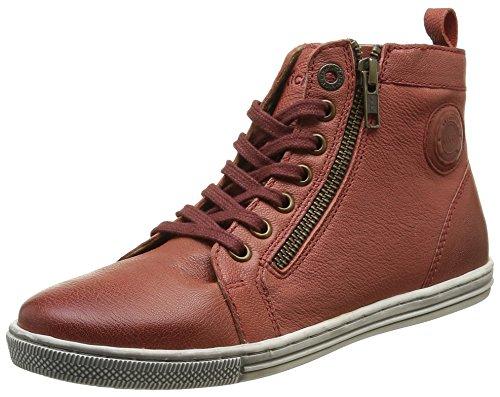 kickers-santal-sneakers-hautes-femmes-rouge-37-eu