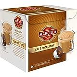 MARCILLA Café con Leche - cápsulas compatibles con las cafeteras Nescafé(R)* Dolce Gusto(R)* | 3 paquetes de 14 cápsulas - Total 42 cápsulas