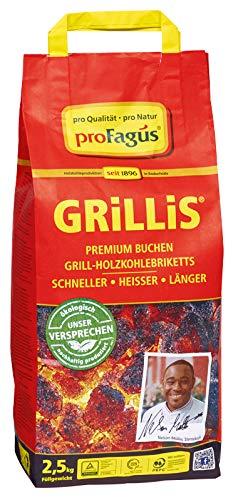 proFagus - Grillis Holzkohlebriketts - 2,5kg