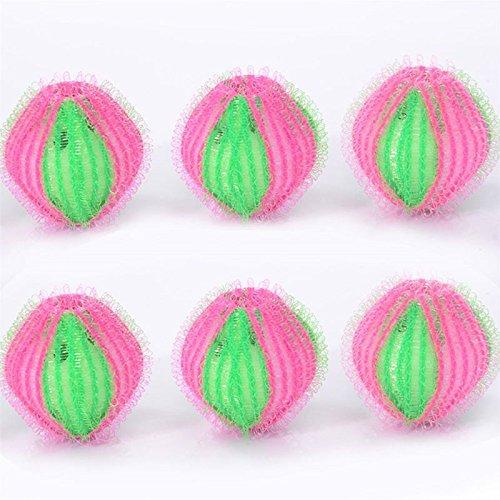 Kicode Waschball 6Pcs Wäscherei-Kugel Für entfernen Schmutzige Enthaarung Körperpflege Reinigung