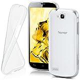 moex Huawei Honor Holly | Hülle Silikon Transparent Klar Clear Back-Cover TPU Schutzhülle Dünn Handyhülle für Honor Holly Case Ultra-Slim Silikonhülle Rückseite
