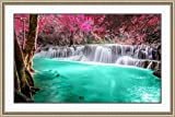 #8: Water-Fall Painting As per Vastu (with Frame) on 410 GSM Imported Canvas